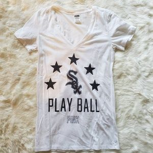 VICTORIA'S SECRET PINK CHICAGO WHITE SOX TEE